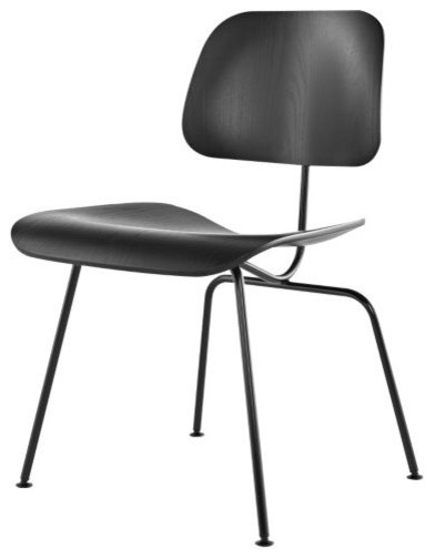 Eames Molded Plywood Dining Chair Metal Base by Herman  : modern dining chairs from houzz.com size 392 x 504 jpeg 17kB