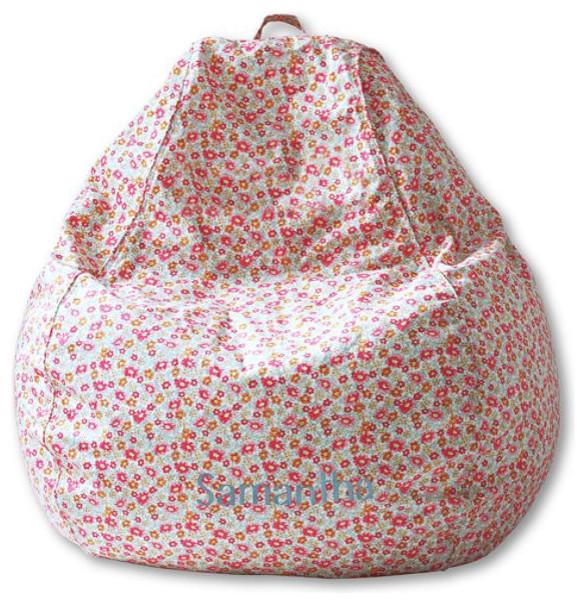 Junior Print Bean Bag Cover Eclectic Bean Bag Chairs
