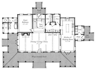 New Carolina Island House - | Southern Living House Plans