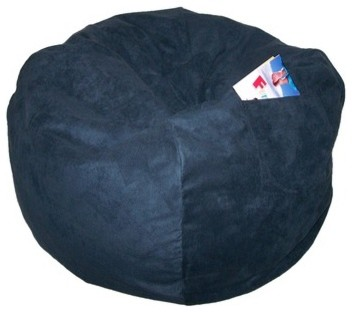 Micro Suede Large Beanbag Chair modern-kids-chairs