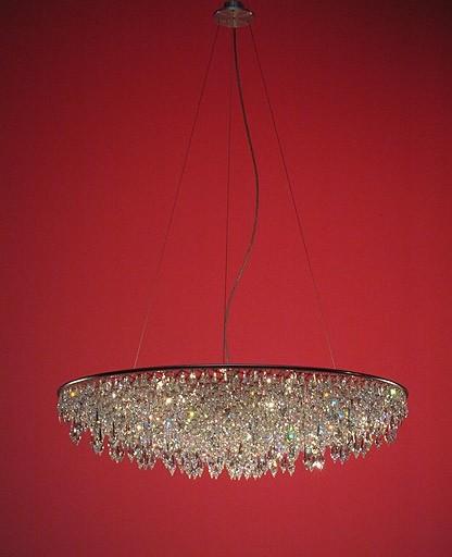Anthologie Quartett - Grande crystal rain chandelier modern-chandeliers