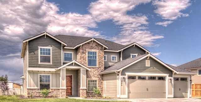 The Kerrville traditional exterior