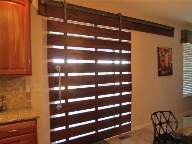 Barn Doors Contemporary Kitchen Other Metro By