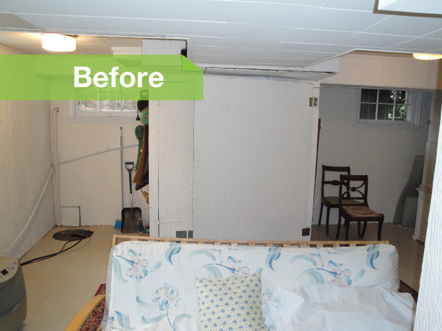 Basement of the Week: Case Remodeling traditional