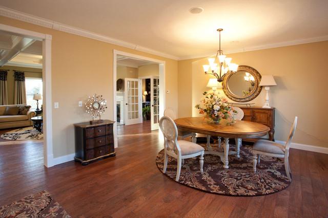 Maronda Model Home traditional-living-room