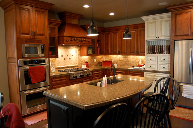 Higley Residence traditional-kitchen