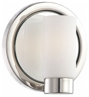 George Kovacs Next Port 1 Light Bath Sconce - modern - wall ...