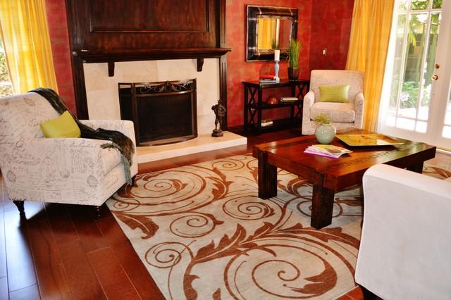 Home Staging - Encino, CA mediterranean-living-room