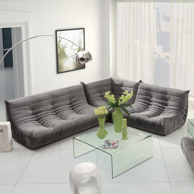 Zuo Modern Circus Sectional Sofa Set - Modern - Sectional Sofas - by Hayneedle