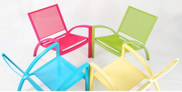Rho Lounge by John Kelly contemporary outdoor chairs