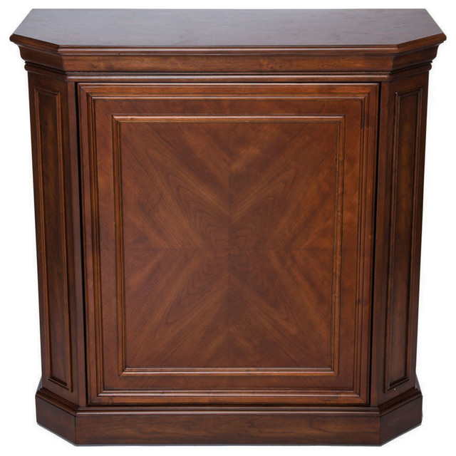 Bar Cabinet With Spindle Contemporary Wine And Bar