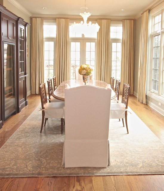 Tudor with Southern Flair traditional-dining-room
