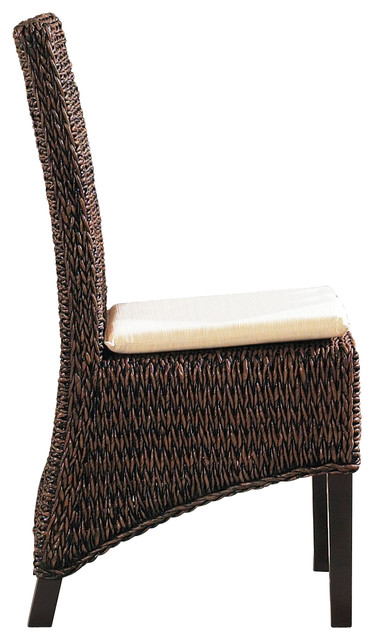 Seagrass Dining Chairs | Barbados Set of 2 tropical-furniture