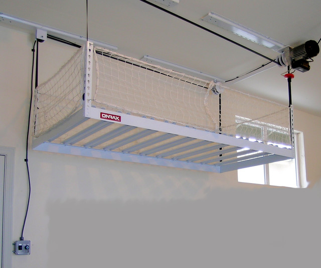 motorized garage storage - Storage And Organization - seattle - by ONRAX Overhead Storage