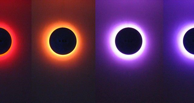 Ora. An interactive eclipse. - contemporary - wall sconces