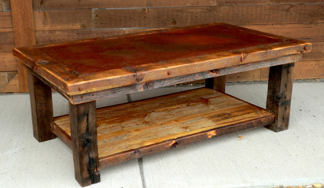 Rustic Furniture Portfolio - rustic - coffee tables - other metro