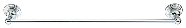 Belle Foret 24-inch Chrome Towel Bar contemporary-towel-bars-and-hooks