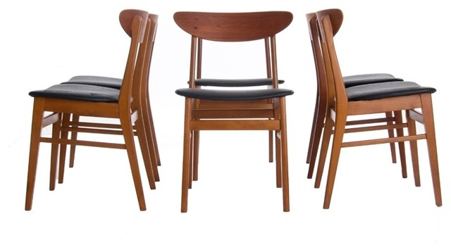 Vintage danish modern dining chairs modern dining chairs