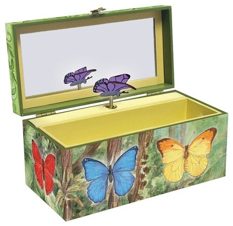 Butterflies Music Box modern accessories and decor