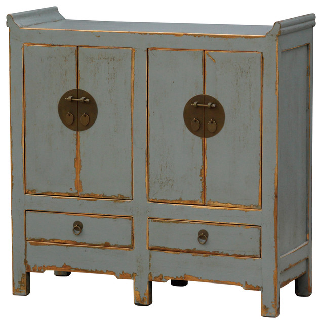 Small Cabinet 4 Door/2 Drawer - Asian - Buffets And Sideboards - by Masins Furniture