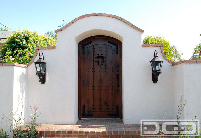 A Laguna Beach Ca Spanish Colonial Gate Handcrafted In