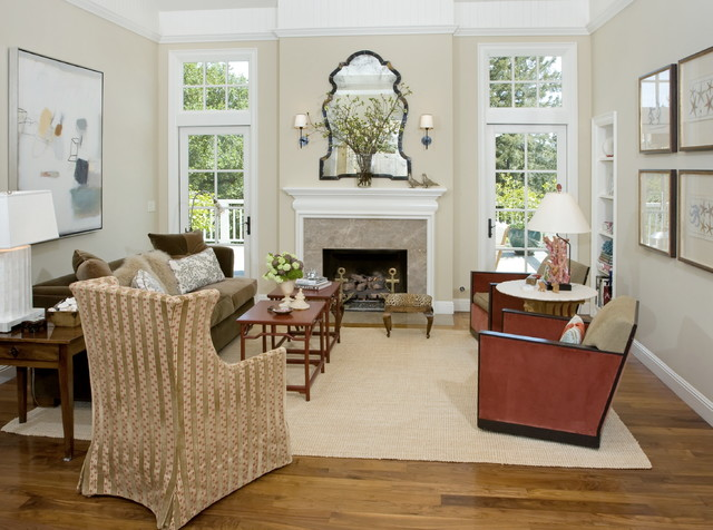 Mill Valley Residence traditional-living-room