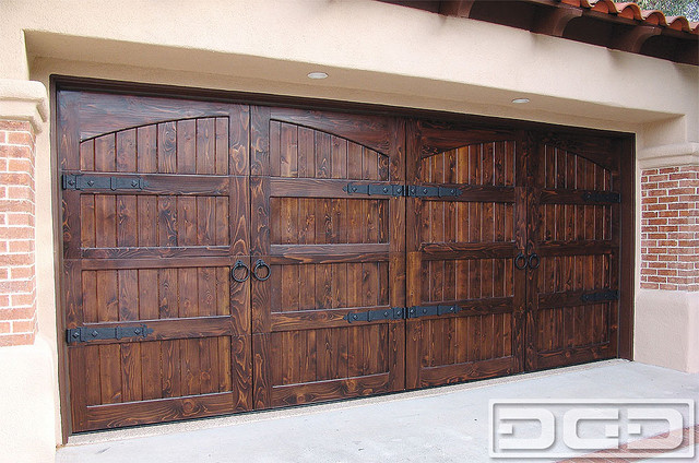 Spanish Colonial 14, Custom Architectural Garage Door mediterranean-garage-doors-and-openers