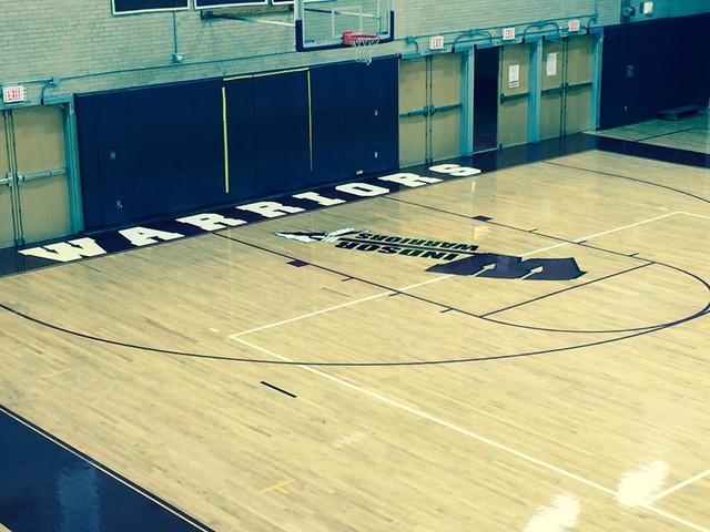 Windsor high school gymnasium modern home gym