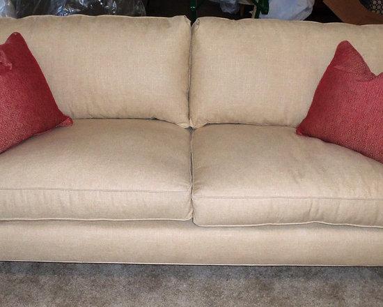 Customer Custom Orders - Robin Bruce Brooke Sofa (2) Cushion.