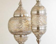 VivaTerra Moroccan Hanging Lamp mediterranean-pendant-lighting