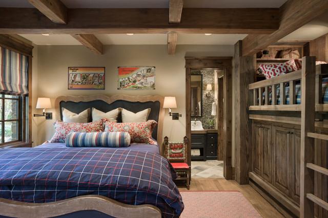 Chimney Rock Residence traditional-bedroom