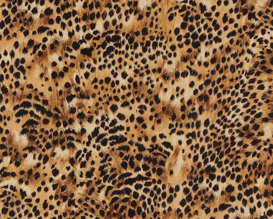 E421 Cheetah Animal Print Microfiber Fabric -