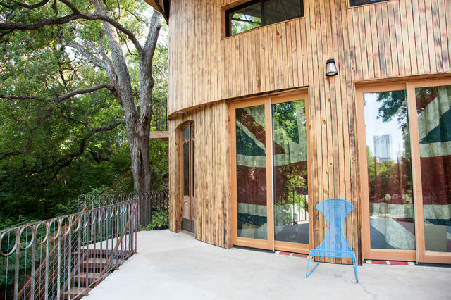 Green Sustainable Austin eclectic-exterior