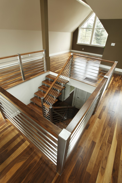 Loft contemporary staircase