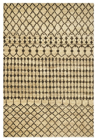 Rhodes  Cream/Chocolate Rug mediterranean rugs