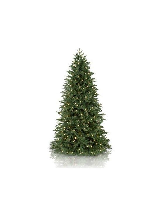 Balsam Hill Silverado Slim™ Artificial Christmas Tree - THE BEAUTY OF NAPA IN BALSAM HILL'S SILVERADO SLIM™ CHRISTMAS TREE