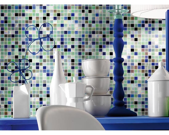 Mosaico + glass tile