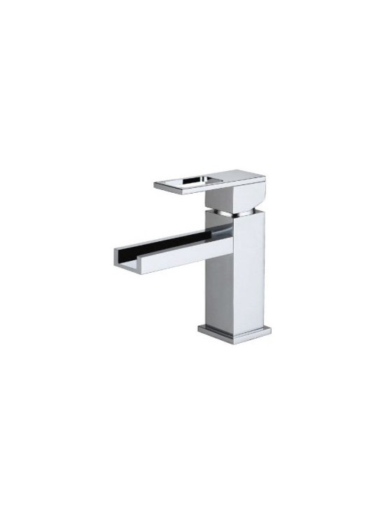 "Danze Reef Single Handle Lavatory Faucet D225533 - 5 ¼"" high spout."