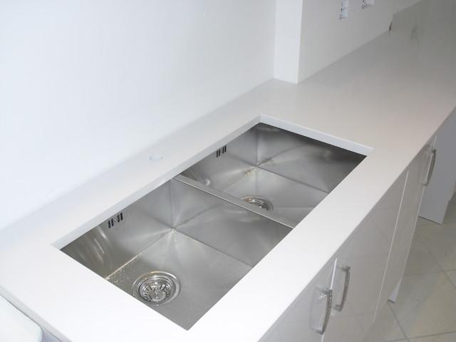 Blanco zeus quartz worktops silestone contemporary - Silestone blanco zeus precio ...