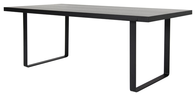 Wenge Dining Table Small Black Modern Dining Tables By Inmod