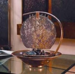 Moonshadow Table Fountain - watergifts modern-indoor-fountains