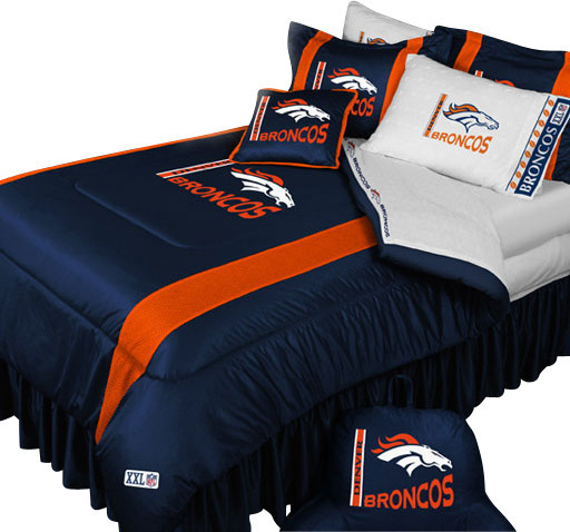 Broncos Bedding Set Queen Size