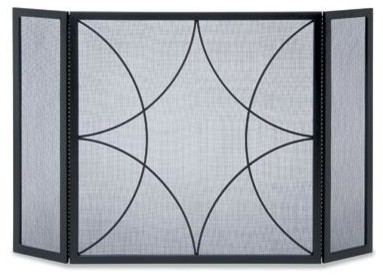 Napa Forge Forged Diamond 3 Panel Screen modern-screens-and-room-dividers