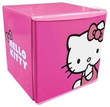 Hello Kitty 1.7 Cubic Feet Fridge modern-refrigerators