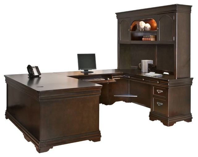 Kathy Ireland u shaped desk