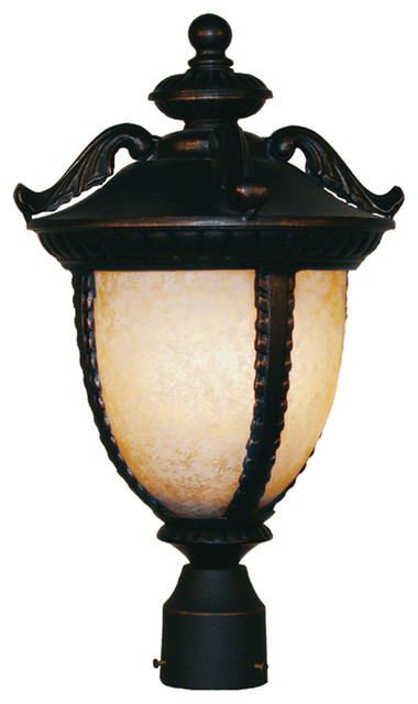 Z Lite 2141PHB-BG Outdoor Post Light contemporary-post-lights
