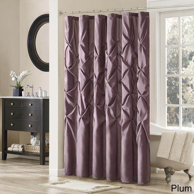 Madison park vivian polyester shower curtain - Madison park bathroom accessories ...