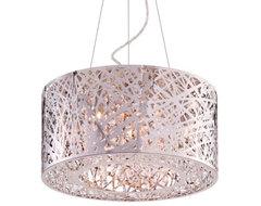 Inca Drum Pendant by ET2 Lighting contemporary-pendant-lighting