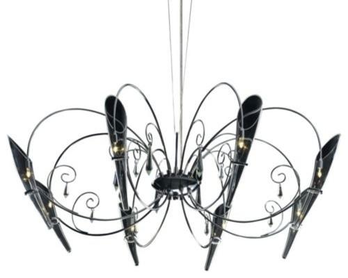 Belleza 8 Light Chandelier contemporary-chandeliers