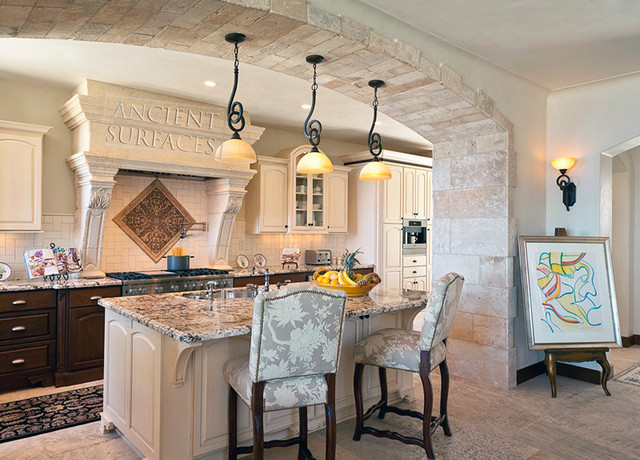 Kitchen Hoods, Counters and Floors mediterranean-range-hoods-and-vents